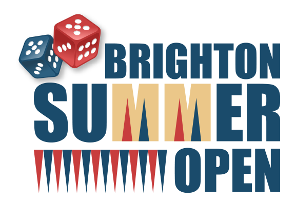 Format : Brighton Summer Open Backgammon Tournament